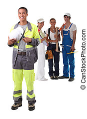 A team of construction worker.