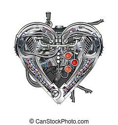 technically mechanical heart
