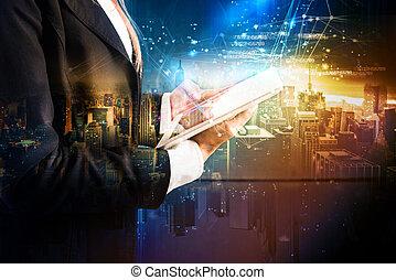 a, tecnologia, que, develops, em, futuro