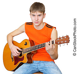 A Teenager With Spanish Guitar