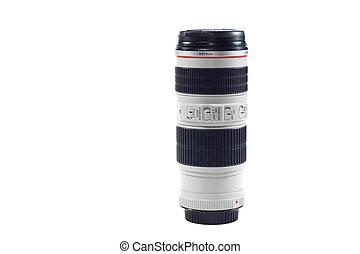 A telephoto zoom lens for a camera