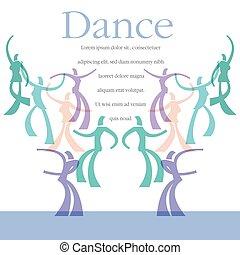 A template for a dance class flyer
