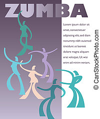 A template for a Zumba class or instructional CD