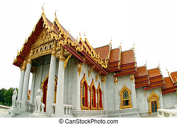 A Temple in Bangkok Thailand.