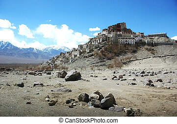 A temple in Tibet