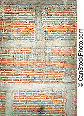 a texture of brick wall background