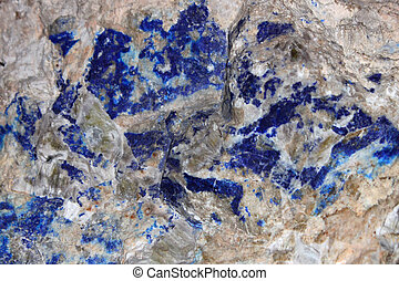 A texture of natural lazurite