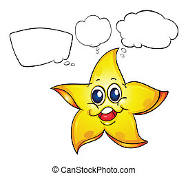 A thinking star
