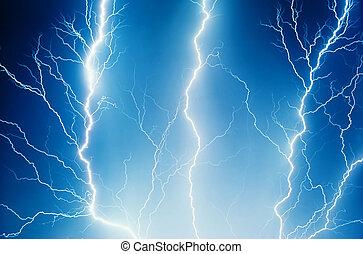a, thunder..
