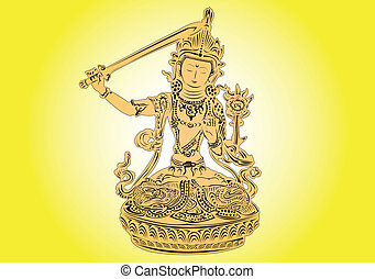 Tibetan God.