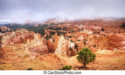 A Timelapse at Bryce Canyon, Utah