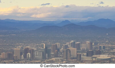Timelapse city of Phoenix in the Valley of the Sun - A...