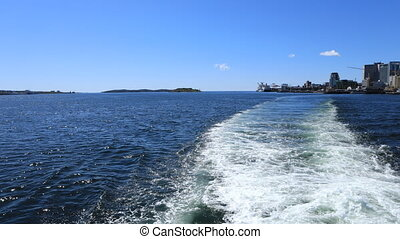Timelapse from the Halifax to Dartmouth ferry - A Timelapse...