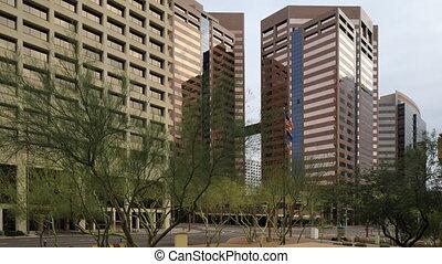 Timelapse of city center in Phoenix, Arizona