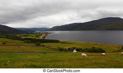 Timelapse overlooking Ullapool, Scotland - A Timelapse...