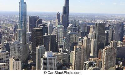 Timelapse the Chicago skyline
