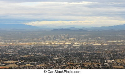 Timelapse view of Phoenix in the Valley of the Sun