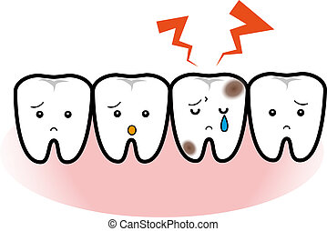 Tooth decay - A Tooth decay cry