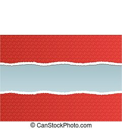 torn ripped - a torn ripped red wall paper based on a ...
