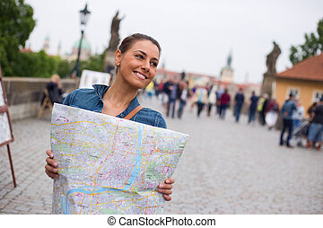 tourist in Prague