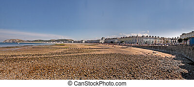 A Town by the Sea - Llandudno is a seaside town on the North...