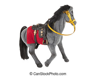 a toy horse