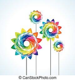 a toy pinwheel