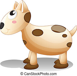 A toy puppy