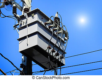 A transformer is an electrical device that transfers electrical energy