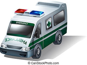 A transportation for sick and injured people