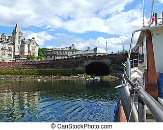 A trip by a bout, Oban, Scotland