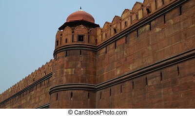 A turret tower protrudes along the outer wall. - at the Red...