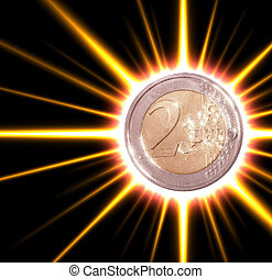 two-euro coin