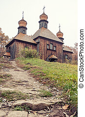 ukrainian antique orthodox church