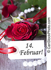 Valentines Background - A Valentines Background with red...