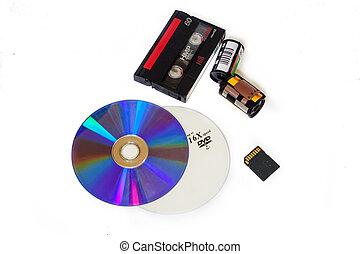 A variety of storage media
