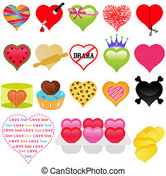 A vector collection of Valentine