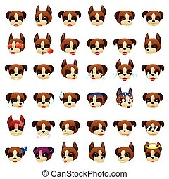 Boxer Dog Emoji Emoticon Expression