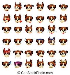 Boxer Dog Emoji Emoticon Expression
