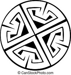 Celtic pattern and knots