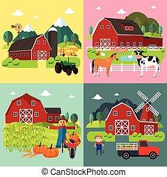 Farm Life Cliparts