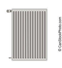 A vector illustration of radiator