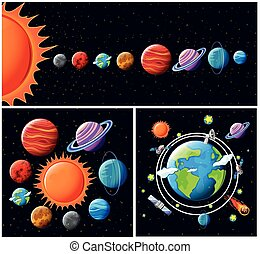 A Vector of Solar System