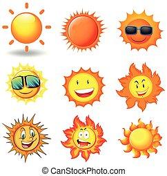 A Vector Set of Sun