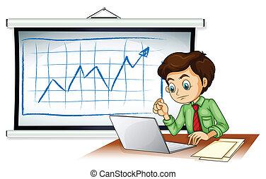 A very busy businessman