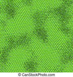 green snake skin - a very large illustration of scaley and...