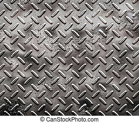 rough black diamond plate - a very large sheet of rough ...