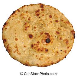 "A very popular Indian/Pakistani bread called ""Tandoori Naan"""