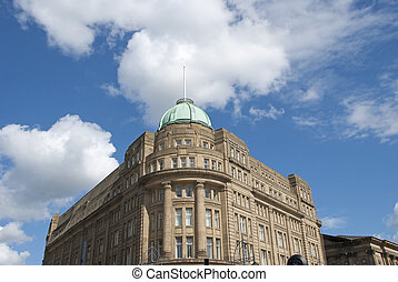 Victorian Office Block - A Victorian Office Block with a...