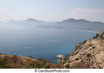 A view looking over to Oludeniz